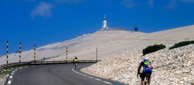 Pour les sportifs : le mont Ventoux en vélo