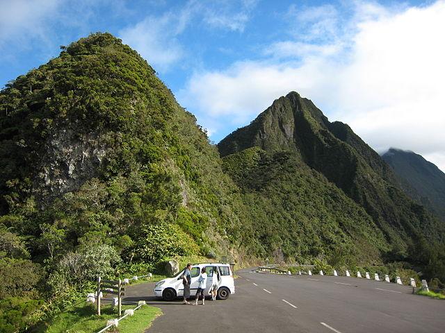 Une voiture et à vous les promenades à La Réunion