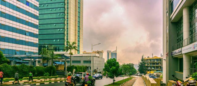 Kigali, une des villes les plus importantes d'Afrique